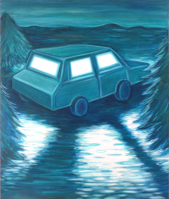Lise Stoufflet Lonely car